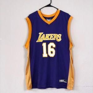 NBA Other | Nba La Lakers Pau Gasol Jersey | Poshmark